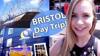 Bristol Travel Vlog - Street Art, Shopping & more #ad