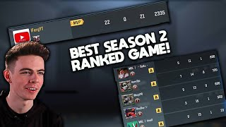 BEST GAME OF LEGENDARY RANKED in SEASON 2! (I was FLAWLESS) COD Mobile