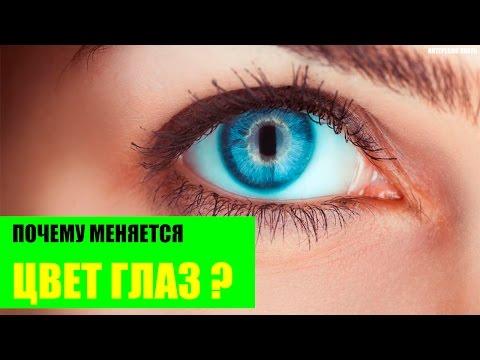Почему меняется цвет глаз?
