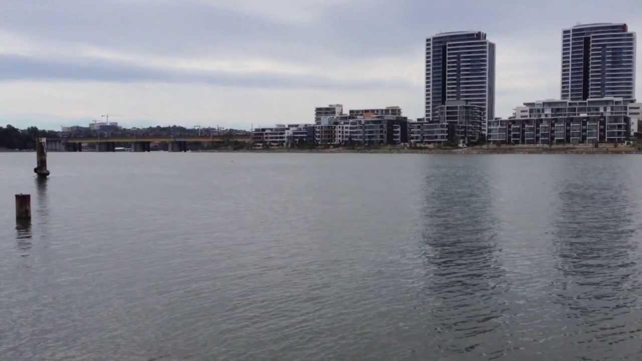 Homebush Bay Sydney Olympic Park On The Parramatta River