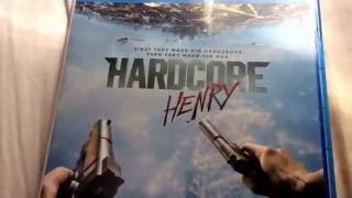 Hardcore Henry blue ray unboxing   Puppet 25