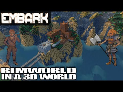RIMWORLD + MINECRAFT + THE SIMS | Embark | 2019 Gameplay (Colony Sim) | E01