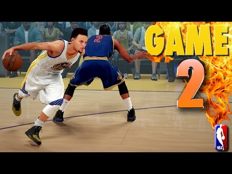 Golden State Warriors vs Cleveland Cavaliers Game 2 NBA Finals   NBA 2K16 Prediction