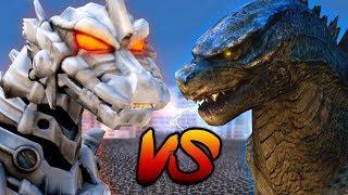 GODZILLA VS MECHAGODZILLA!!! | Ultimate Epic Battle Simulator HD