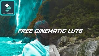 WONDERSHARE FILMORA | HOW TO FREE DOWNLOAD 3D CINEMATIC LUT PACK | TUTORIAL [HINDI] DEEP THABAL !