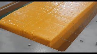 자동 대형 블록 치즈 …