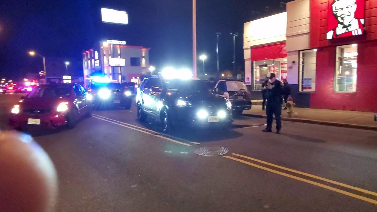 POLICE CRASHES INTO ELDERLY WOMEN
