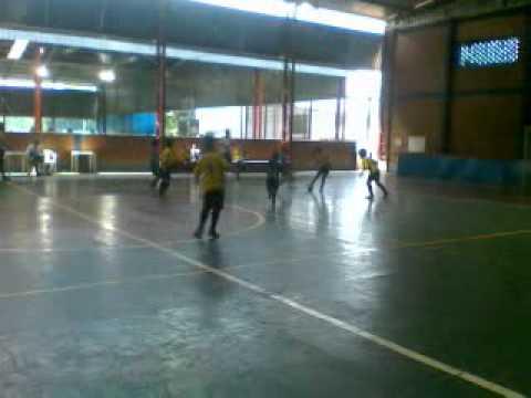 Futsal Jogo do Arena no Iate Clube de londrina
