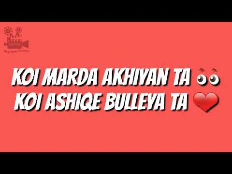 Whatsapp status | zeeshan rokhri | koi marda akhiyan ta