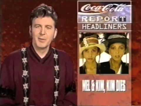 Mel Appleby died announcement on MTV Europe