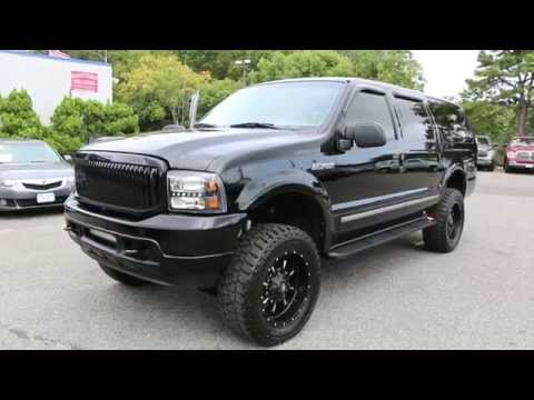 Ford Excursion 2015 >> Review of LIFTED 2004 Ford Excursion Limited For Sale~20 ...