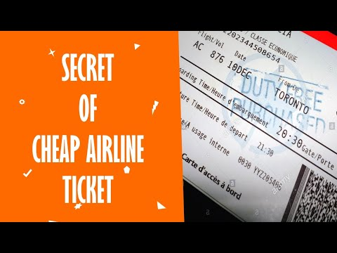 The Real Secret To Get Cheap Airline Tickets Is This Promo Codes