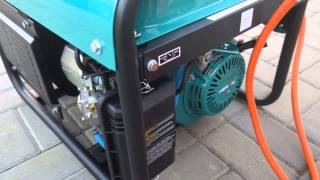 Agregaty prądotwórcze przenośne na gaz LPG, gaz ziemny NG i benzynę