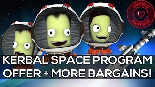 AWESOME Kerbal Space Program Offer + 75% OFF Alien Isolation & More Humble Bargains!