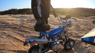 MOTORYNKA ROMET 120KM/H - TUNING - PIASKOWNIA QUADY