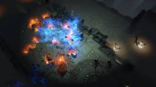 Path of Exile: Blue Flame Incinerate Preview