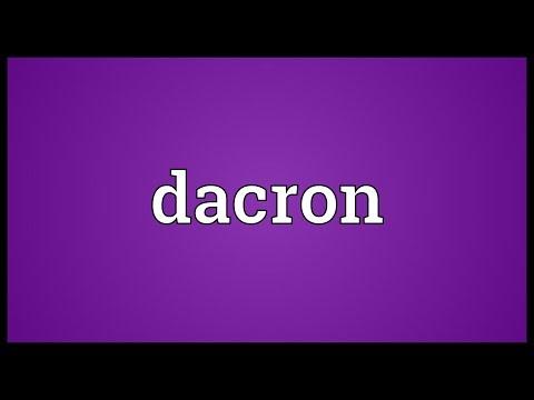 Header of Dacron