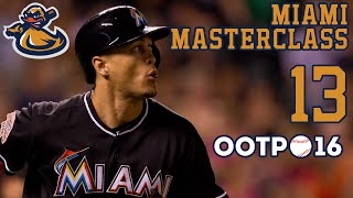 Miami Masterclass (Ep. 13) - Wheels falling off | Out Of The Park Baseball 2016 (OOTP) | Lets Play