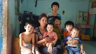 7 đứa trẻ nheo nhóc không cha và nỗi lo của người mẹ về căn bệnh ung thư di truyền
