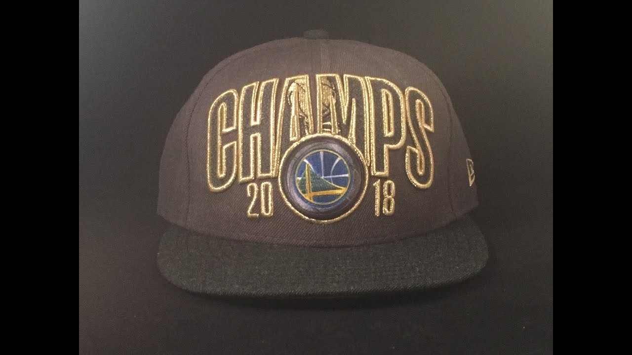 f4d74ae9539 2018 Golden State Warriors Championship Snapback Cap Review NEW ERA ...