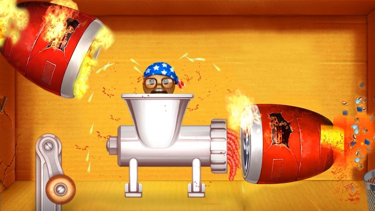 Meat Grinder Vs Buddy Pro USA  |Gameplay Walkthrough |PewGame 2019 #kickthebuddy