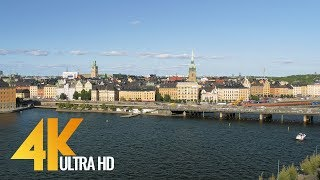 4K Stockholm, Sweden - Cities of the World | Urban Life Documentary Film - Part #1