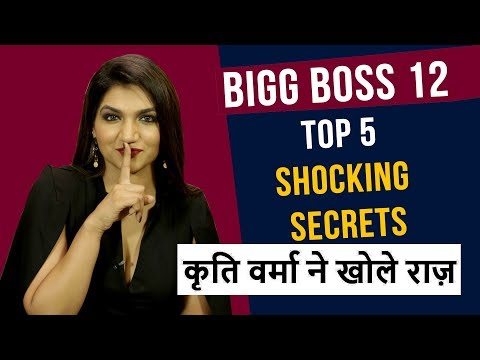Bigg Boss 12 के Top 5 SECRETS का KRITI VERMA ने किया खुलासा | Bigg Boss Secrets