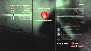 MW3 Gameplay - Modern Warfare 3 Deathstreaks - MW3 (Juiced, Revenge, Dead Man
