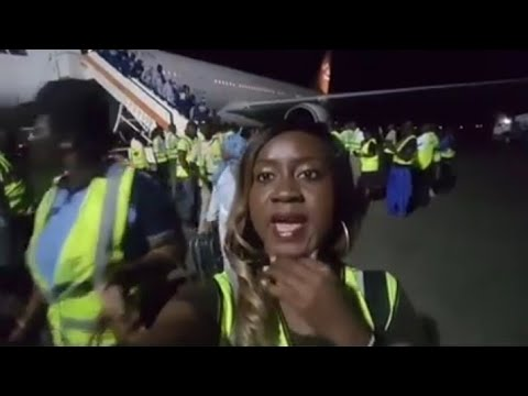NIGERIA MIGRANTS ARRIVE TO NIGERIA FROM LIBYA