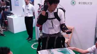 CEATEC JAPAN 2013 KOA / Tokyo University of Science Muscle Suite Demonstration