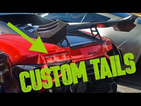 Custom Led Tail Lights Lamborghini Gallardo Youtube
