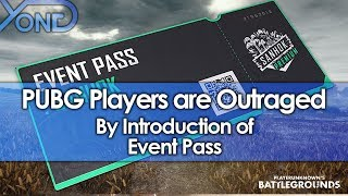 PUBG Players are Outraged by Introduction of Event Pass
