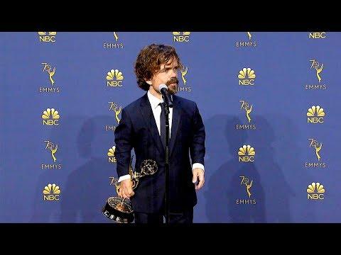 Emmys 2018: Peter Dinklage Backstage Full Press Conference