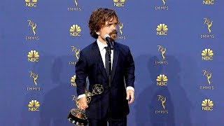 Emmys 2018: Peter Dinklage Backstage (Full Press Conference)