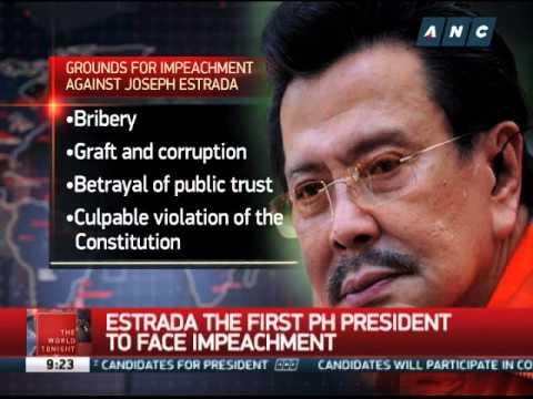 Estrada presidency, one of PH's shortest