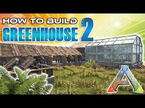 Greenhouse With Phiomia Pen How To Build | Ark