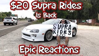 20 Supra Rides Is Back Epic Reactions