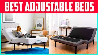 Adjustable Bed Review : The 5 Best Adjustable Bed 2020 UPDATED