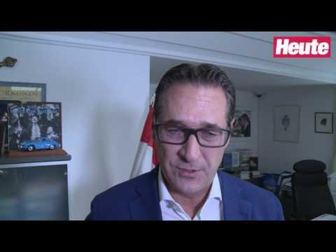Wut-Vater entlassen: Exklusiv-Interview mit Heinz-Christian Strache