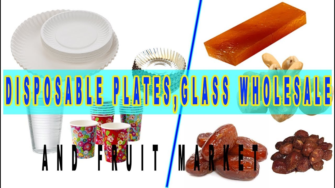 Disposable Plates Gl And Fruit Whole Market