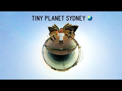 Tiny Planet Sydney - Shot With Gear 360 2017