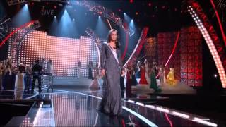 Miss USA 2013 - top 6 final walk - DJ Pauly D - back to love [HD]