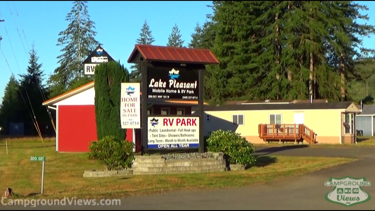 Lake Pleasant Mobile Home And RV Park Forks Washington WA