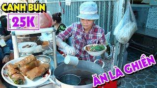 BÚN RIÊU CUA ĐỒNG 25K Núp Hẻm Chuẩn Vị Bắc Với CUỐN CHẤM Tự Chế Ăn Là Ghiền | PM FOOD