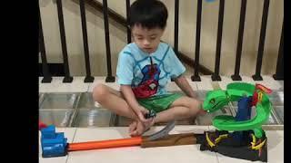 Hotwheels Cobra Crush City !! Kids most favorite toys