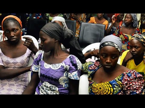 Download 82 Chibok girls kidnapped by Boko Haram released