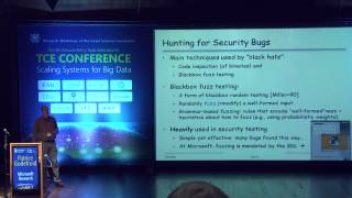 Patrice Godefroid - Automated Software Testing for the 21st Century