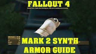 FALLOUT 4 Rare Armor Guide - Mark 2 Synth Armor