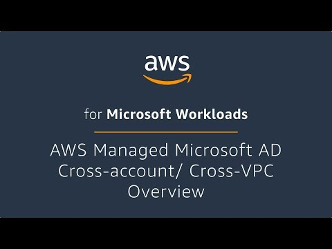 AWS Managed Microsoft AD Cross-account/ Cross-VPC Overview