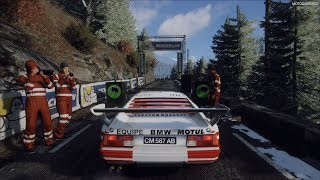 DiRT Rally 2.0 - BMW M1 Procar Rally - Monte Carlo Rally Gameplay [4K 60FPS]